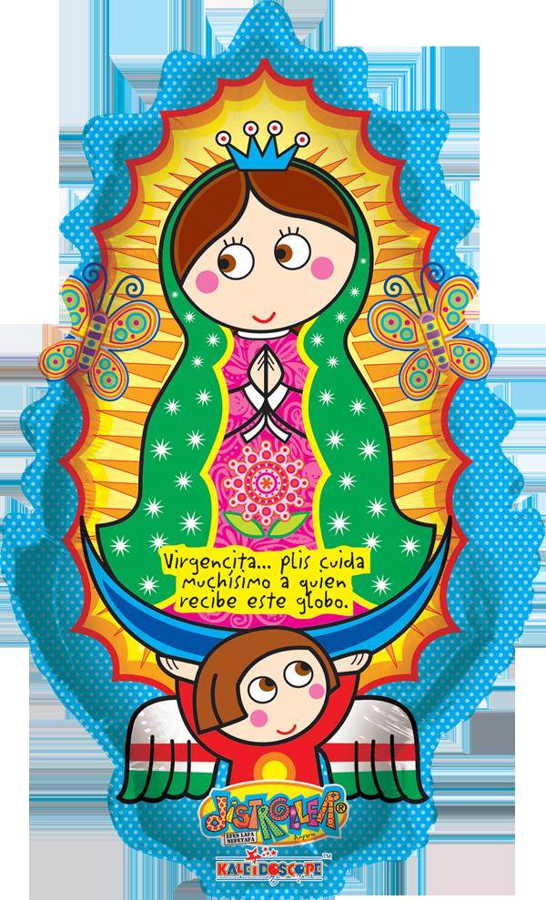 12 De Diciembre Dia De La Virgen De Guadalupe Contamos Con Globos Para Esta Celebra Virgencita De Guadalupe Caricatura Virgencita Virgen De Guadalupe Animada
