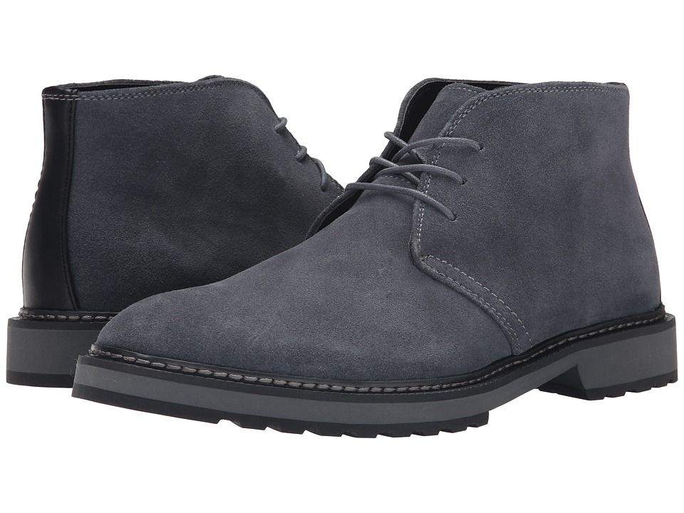 Mens Boots Calvin Klein Agdin Grey Suede