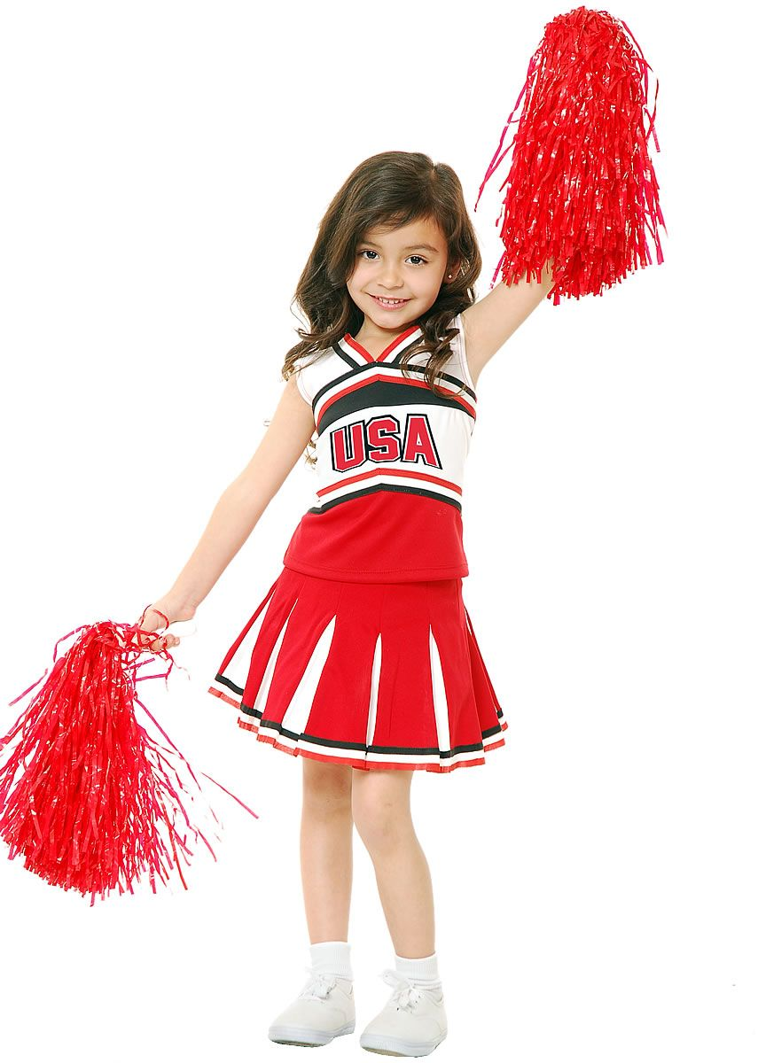 Child's Red Glee Club Cheerleader Costume - Candy Apple Costumes ...