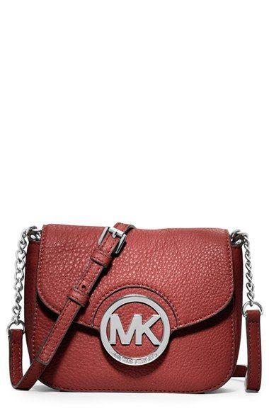 c89e78103 MICHAEL Michael Kors 'Small Fulton' Crossbody Bag available at #Nordstrom