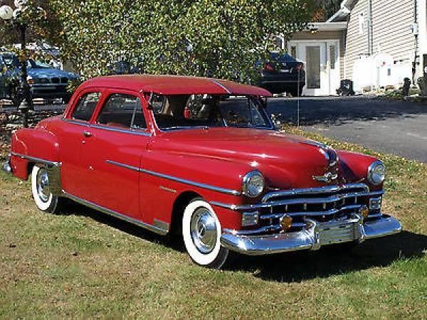 1950 Chrysler Windsor Highlander Coupe With Images Chrysler