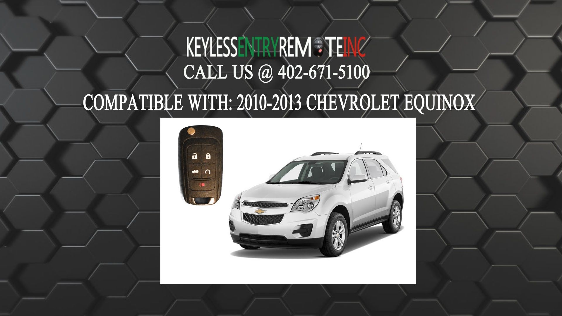 How To Replace A Chevrolet Equinox Key Fob Battery 2010 2016 Chevrolet Equinox Key Fob Chevrolet