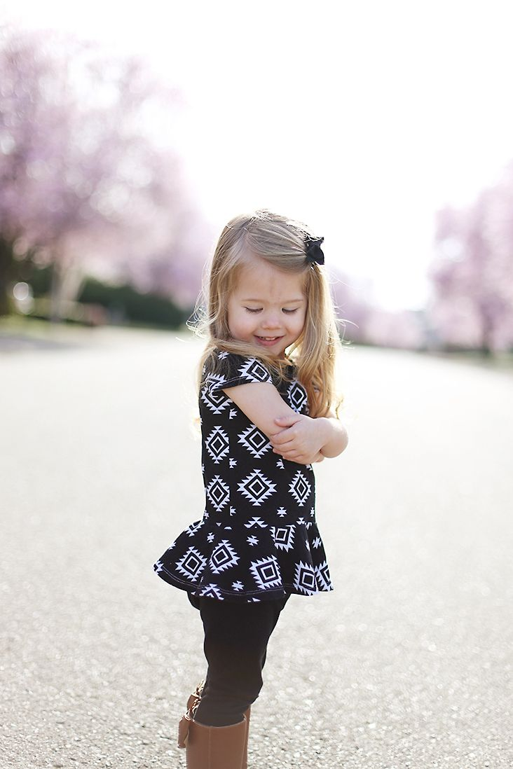 Pretty in Peplum Top Pattern | Sewing / DIY / Kids and Toys ...