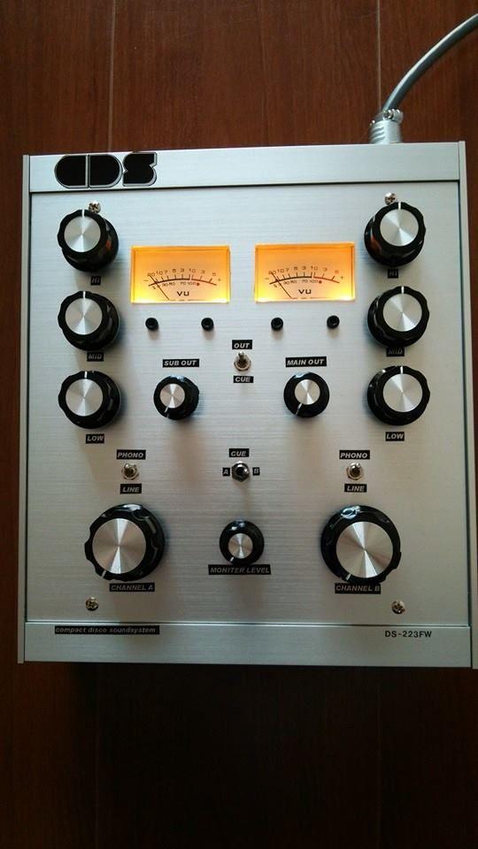 Compact Disco Soundsystem Ds223fw Custom Built 2 Channel 2 Eq