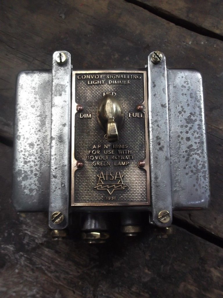 Vintage Industrial Light Dimmer Switch - Sugden and Daughters ...