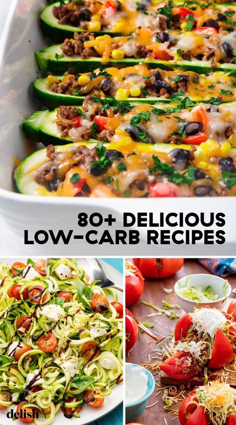 8 diet Menu low carb