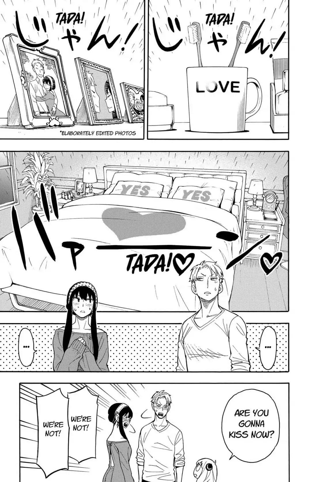 Spy X Family Chapter 11 Mission 11 Page 21 Manganelo Com Anime Family Literature Circles Strange Family