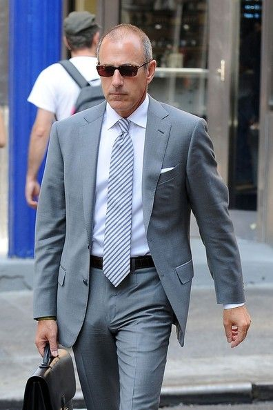 Matt Lauer Photos Photos Matt Lauer Ignores The Heat In 2020