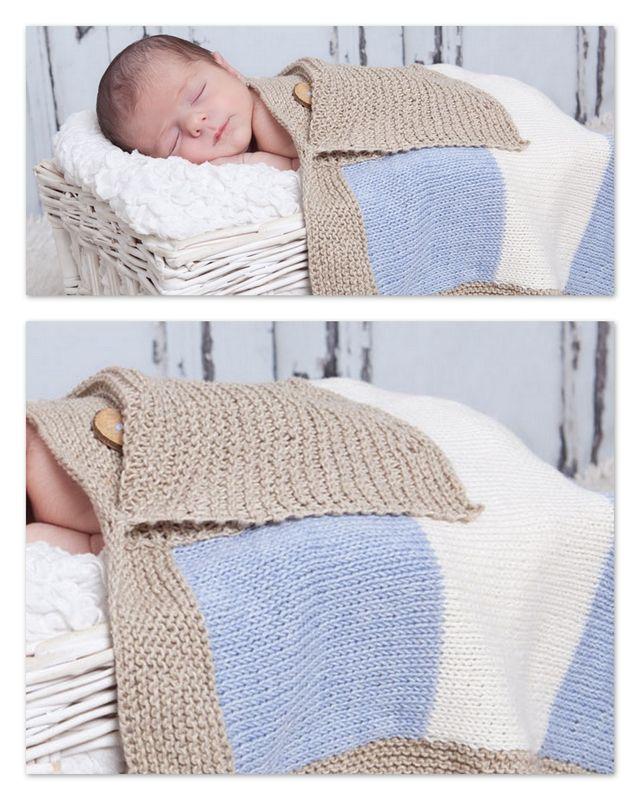 une petite couverture b b la malle aux mille mailles mod les tricots pour b b trouv s sur. Black Bedroom Furniture Sets. Home Design Ideas