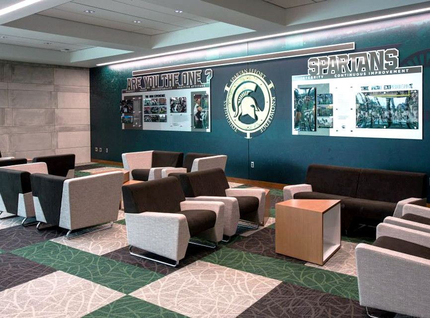 Ispyki 39 S New Myway Lounge Seating At Michigan State University Go Spartans Athletics