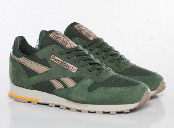 4ef1644759af Reebok Classic Leather - Olive - Green - Beige - SneakerNews.com ...