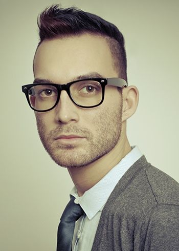 Mohawk Short Funky Hairstyle For Men