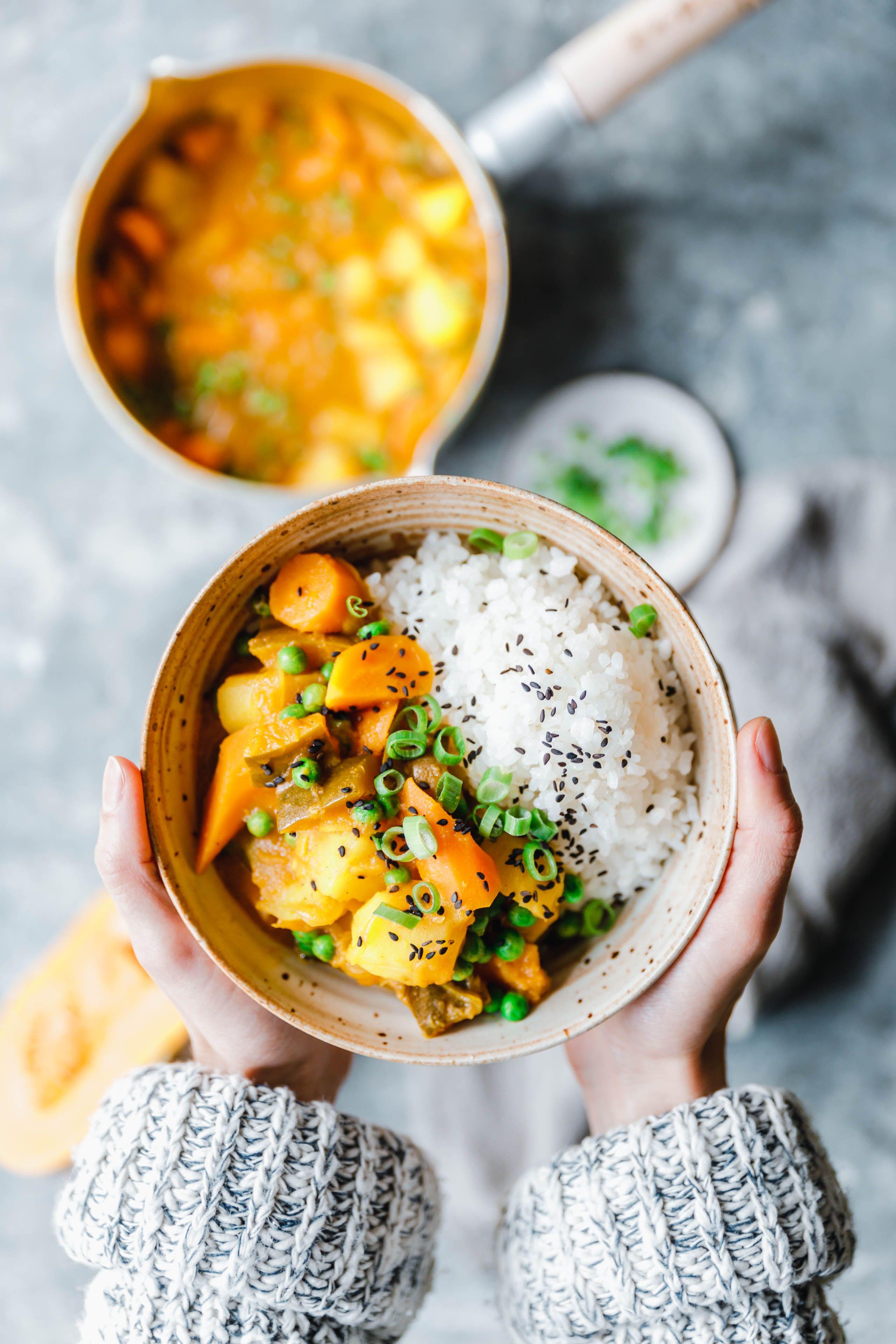 Japanisches Curry Mit Muskat Kurbis Eat This Foodblog Vegane Rezepte Stories Rezept Japanisches Curry Japanisches Essen Rezepte