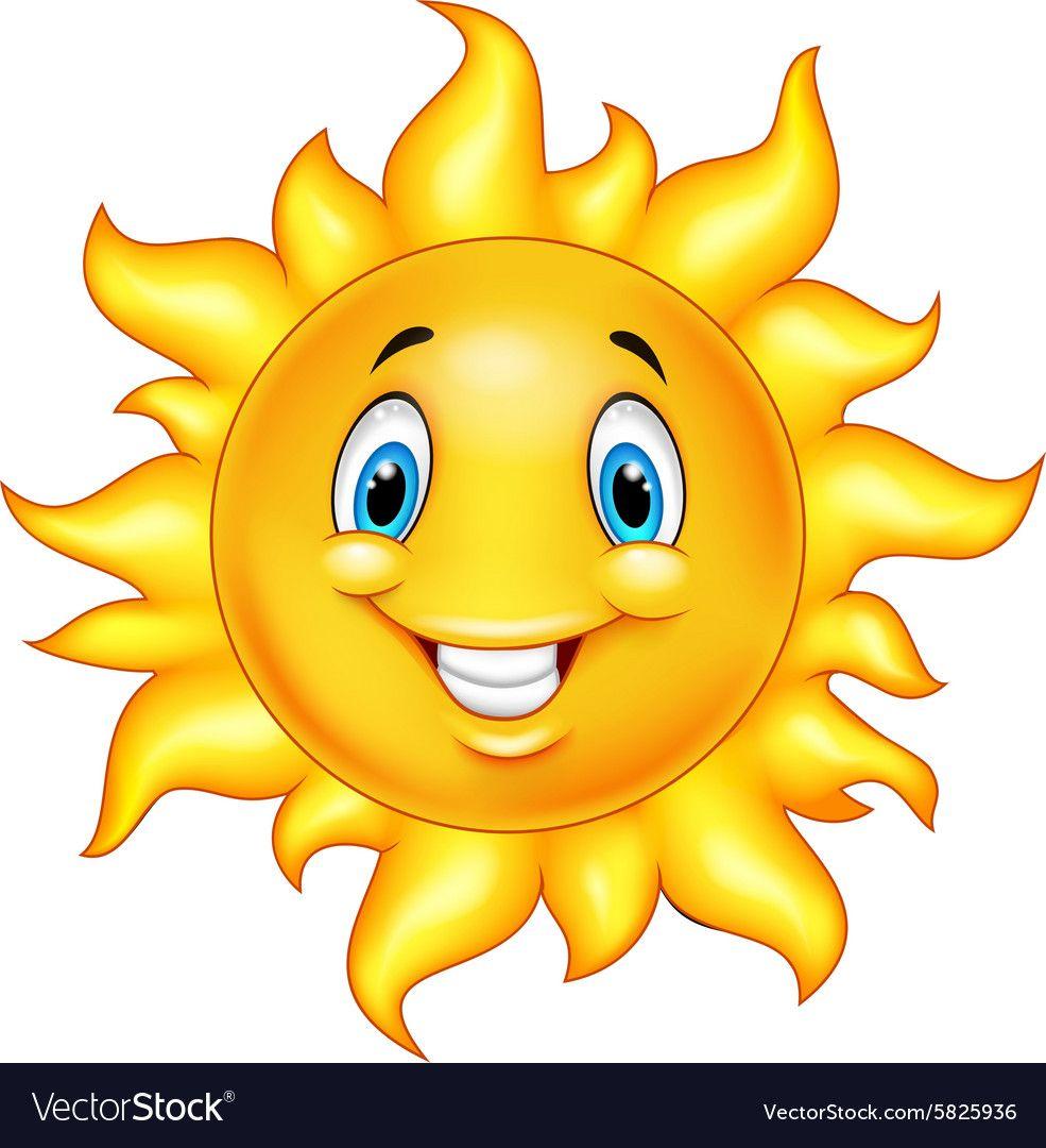 Illustration Of Cute Cartoon Sun Download A Free Preview Or High Quality Adobe Illustrator Ai Eps Pdf And High Resoluti Cartoon Sun Cartoon Clip Art Cartoon