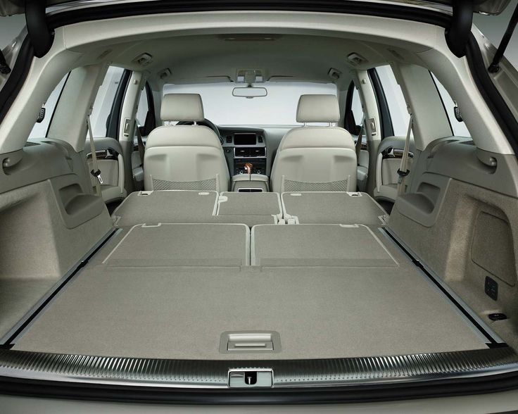 Awesome Audi 2017 - The Audi Q7 interior...luxurious and spacious ...