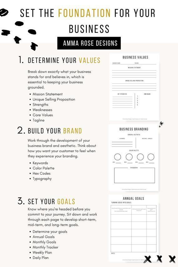 Business Planner Printable   Business Planner PDF