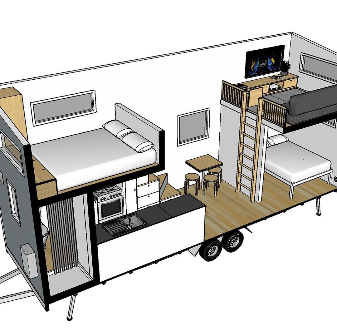 """Rental Websites For Houses: Build Tiny (@buildtinyhomes) On Instagram: """"One Of 4 New"""