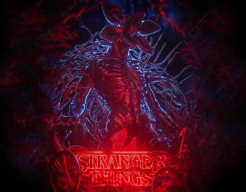 Demonic Explorations On Behance Stranger Things Demon Drawings