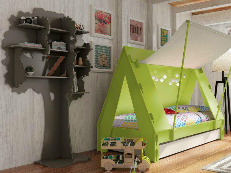 Offene Kinder Bücherregal Design Ideen Möbel Die Innen Fläche Der Baum  Wickelt Sich In Der Nähe