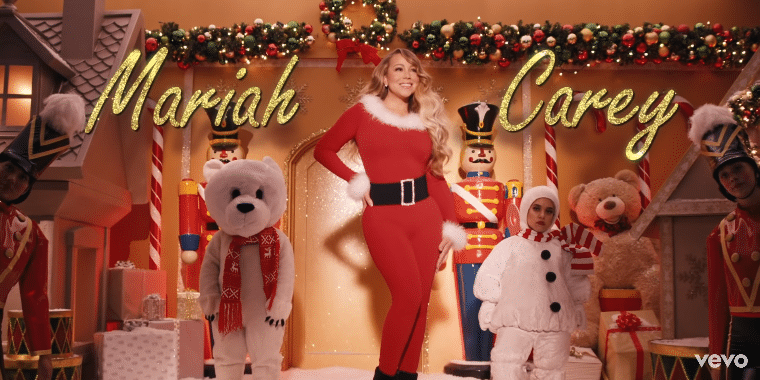 Mariah Carey All I Want For Christmas Is You Mariah Carey Mariah Carey Christmas Mariah