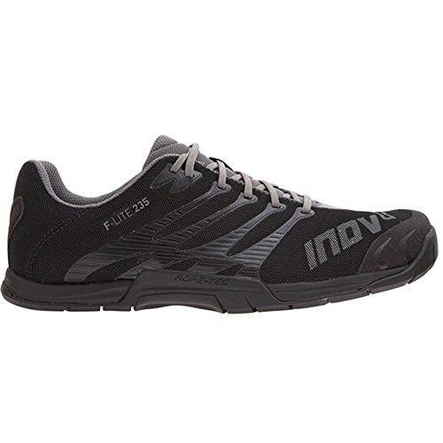 Mens Inov8 F Lite 235 Fitness Shoes Standard Fit Black