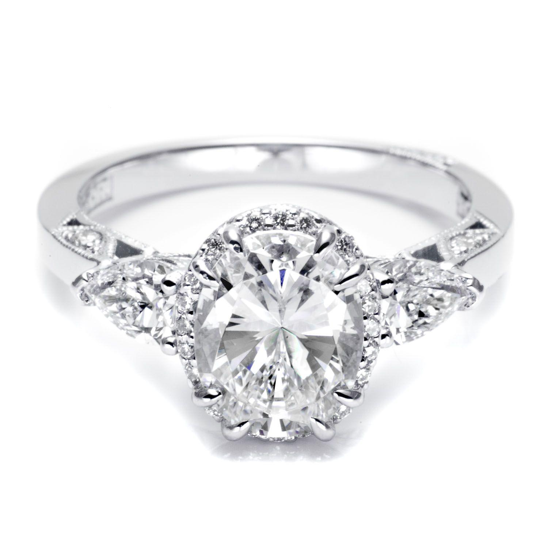 diamond engagement rings | Oval Shaped Diamond Ring