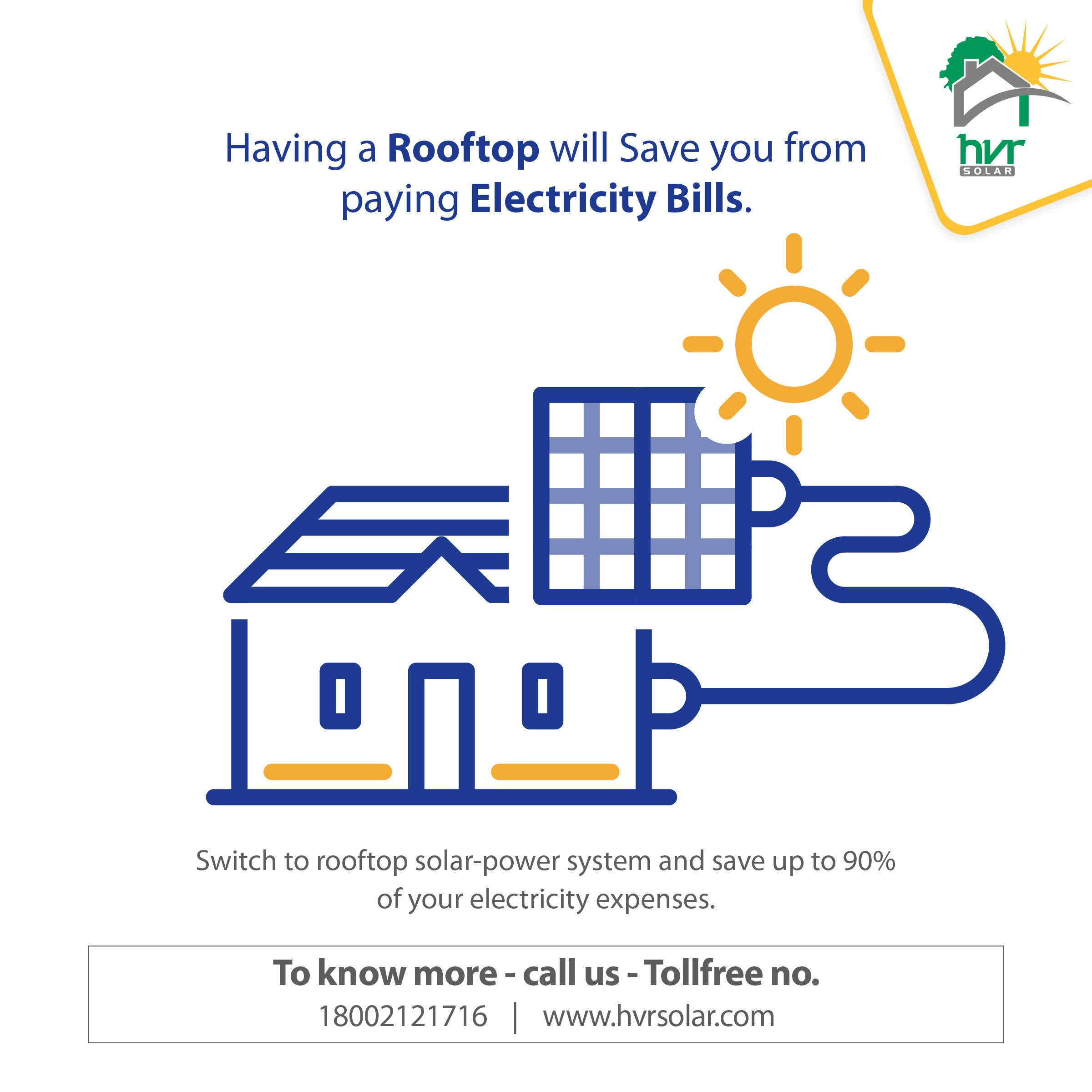 Switch To #rooftop #solarpower System And Save Up To 90