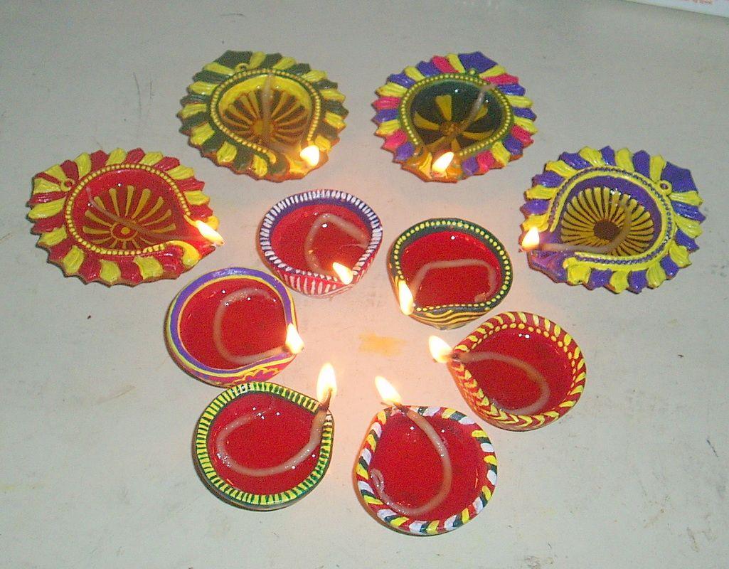 Happy Diwali | Rangoli Design and Diwali decoration | Pinterest ... for Diwali Lamps Designs  155fiz
