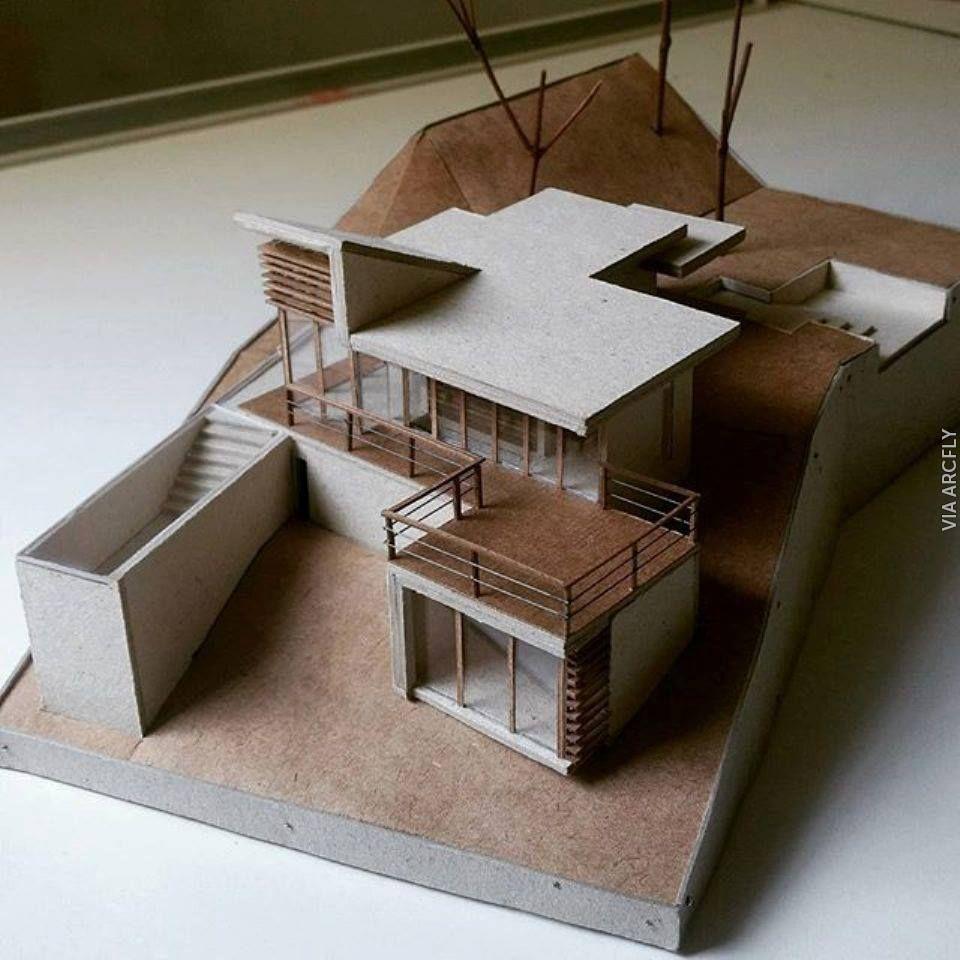Villa Architecturedesign: Maquette