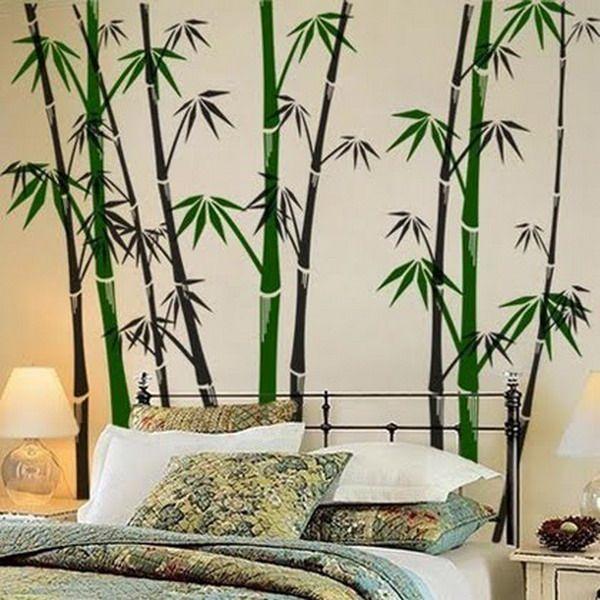 elegant modern wall murals bamboo bedroom design ideas best wall - Wall Mural Designs Ideas