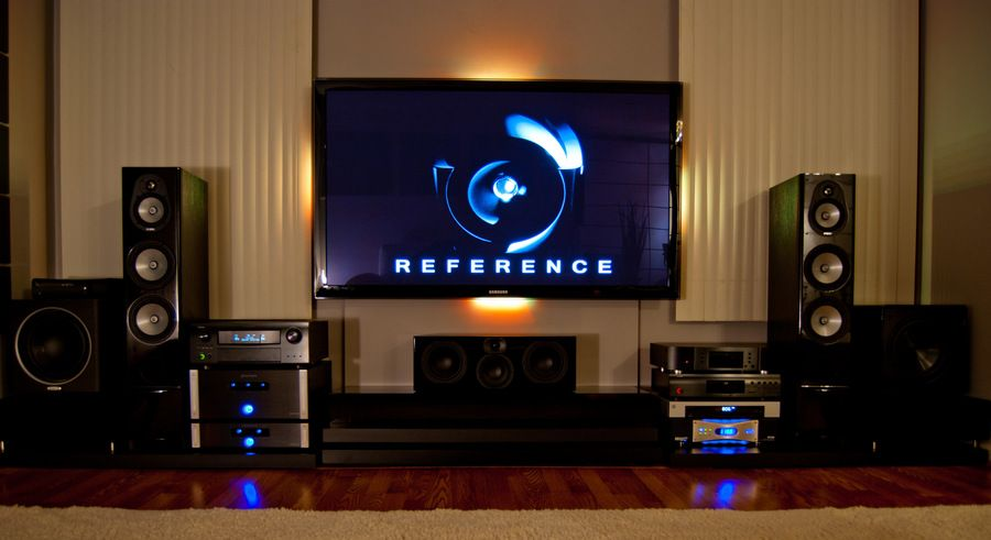 Home Theater Living Room Setup