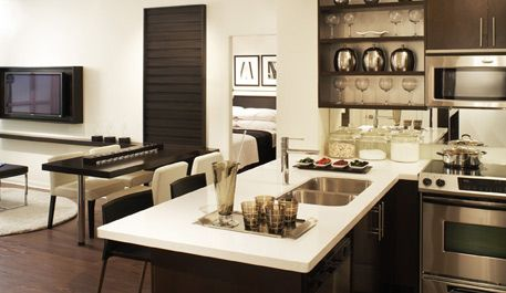 Condo Style Living Room Kitchen Kitchen Living Kitchen Inspirations