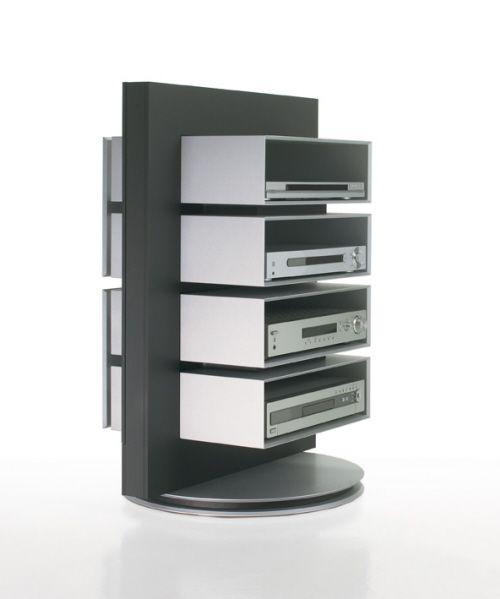 Stereo Stand With Media Storage Furniture Modern Minimalist