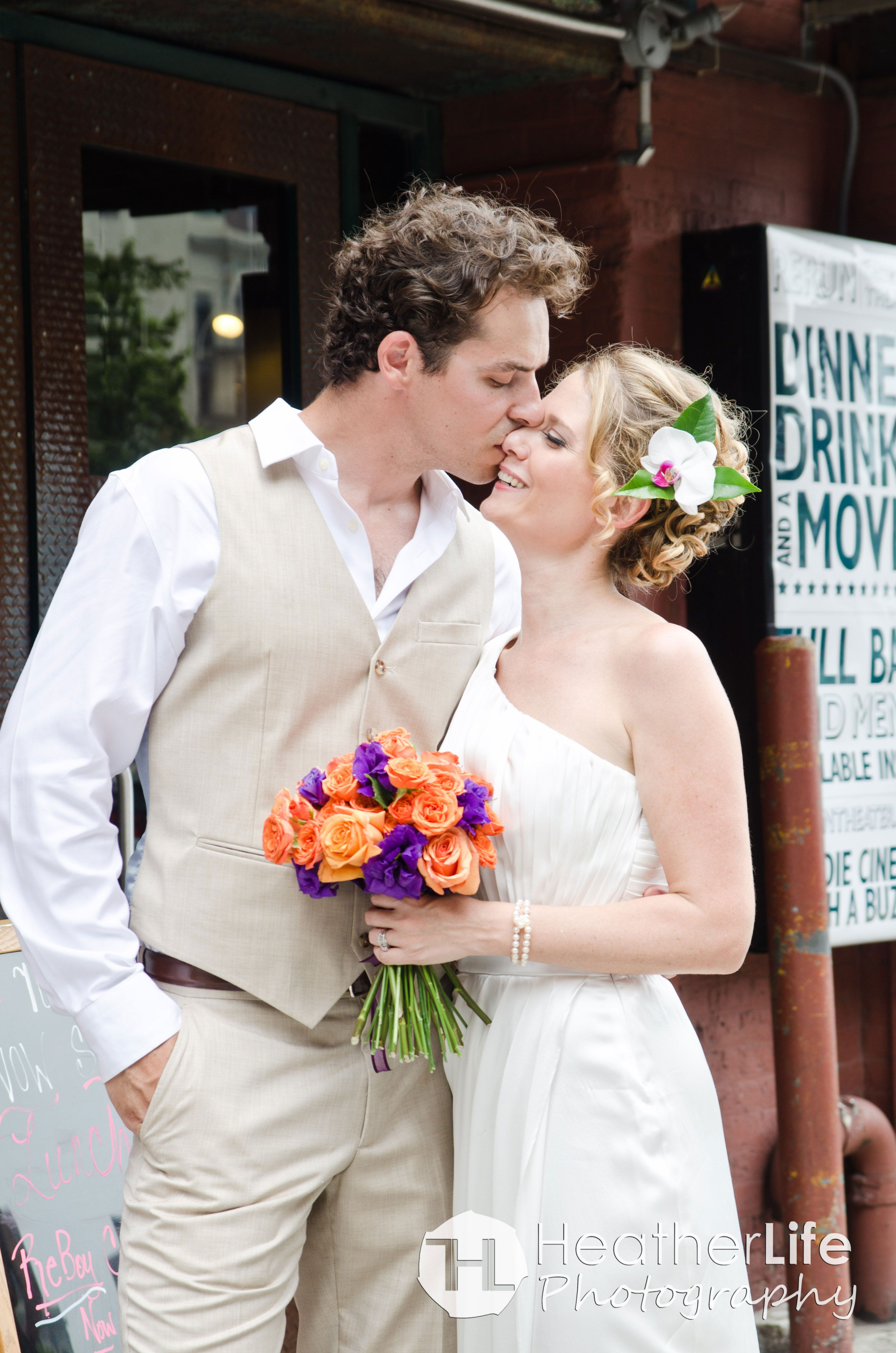 Brooklyn Bridge Park Pebble Beach / reBar Wedding, Brooklyn NY ...