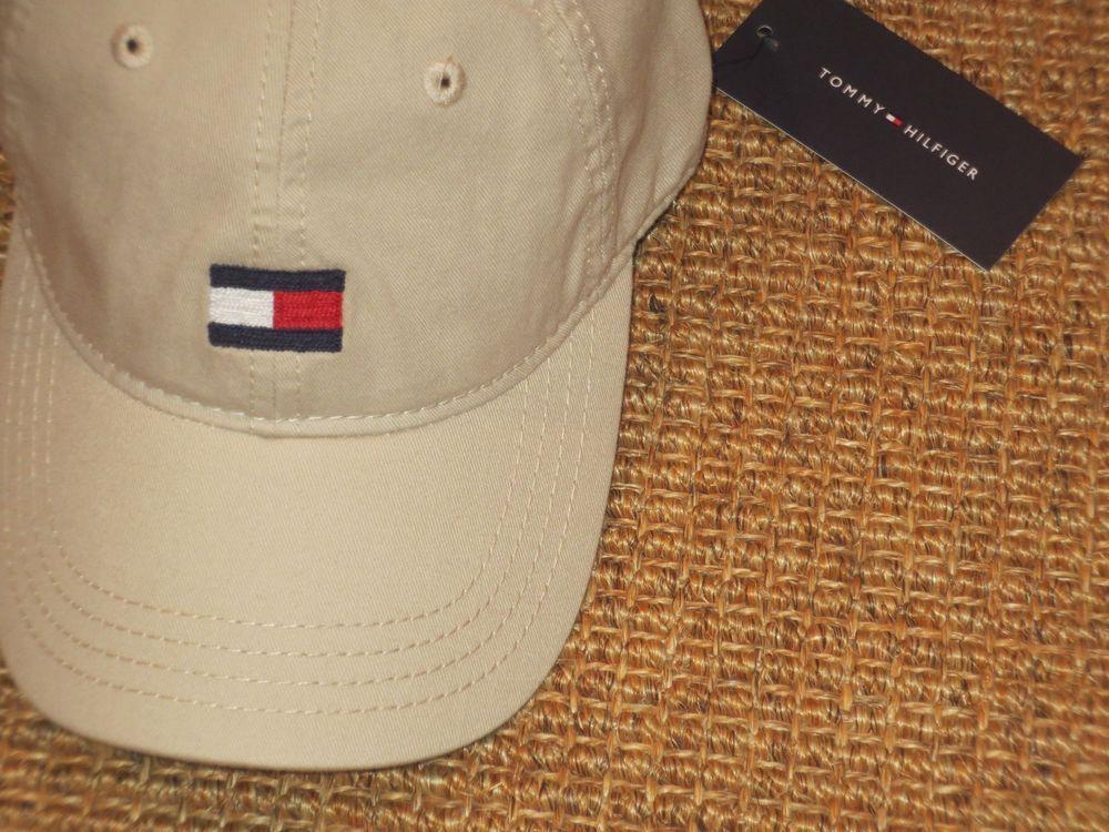 Tommy Hilfiger TH Logo Hat Baseball Cap Polyester Cotton Adjustable Men/'s Womens