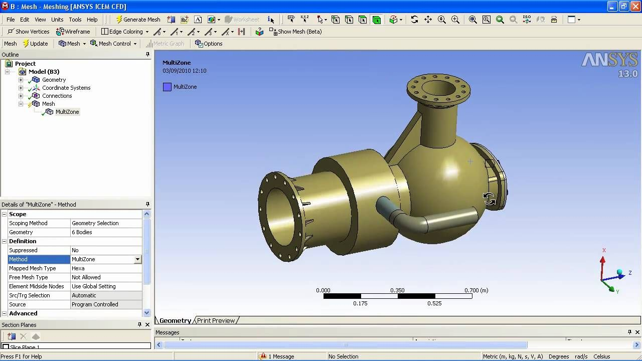 Ansys Mechanical Workbench Ansys Design Space Design Modeler Dm Is A Component Of Ansys Workbe Mechanical Engineering Ansys Mechanical Engineering Software