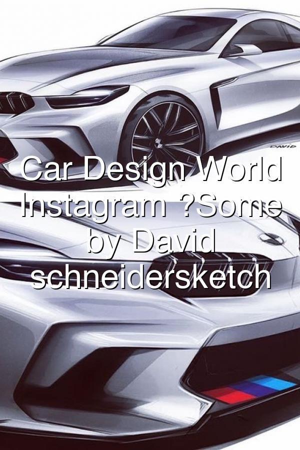 Some sketches by David Schneider schneidersketch BMW Lamborghini Aston Martin cardesign car design carsketch sketch bmw