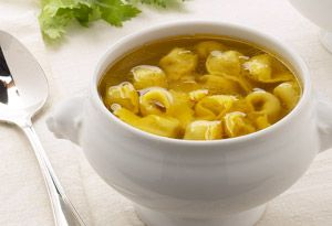 Quick and Easy Dinners for 4 - Tortellini Soup Recipe - Oprah.com