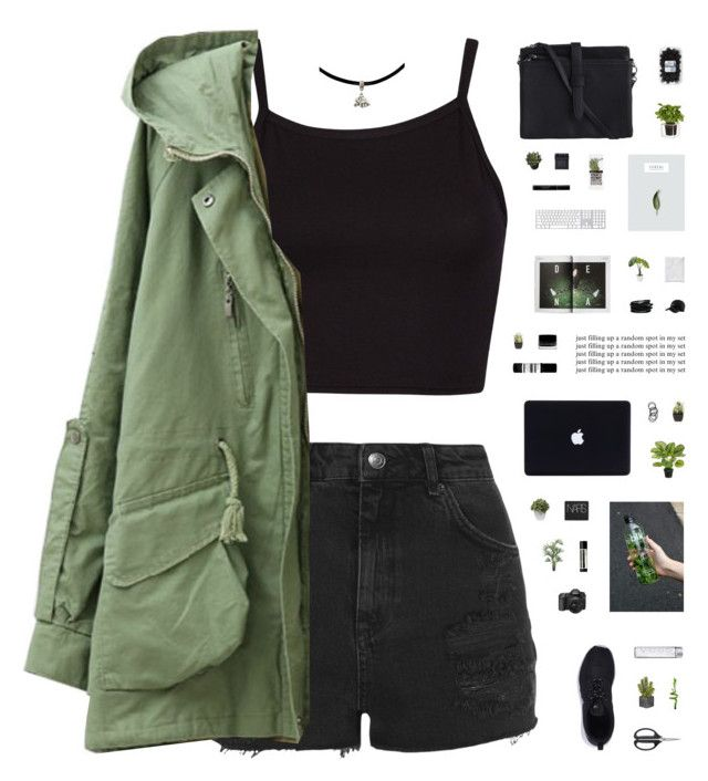 """LET'S FLY // read description"" by c-hristinep ❤ liked on Polyvore featuring moda, Topshop, NIKE, OXO, PLANT, Illamasqua, Nearly Natural, NARS Cosmetics, Aesop e Boskke"
