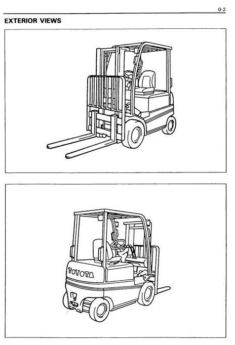 Toyota Bt Electric Forklift Truck Fbmf16 Fbmf20 Fbmf25 Fbmf30 Workshop Service Manual Forklift Toyota Manual