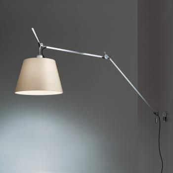 Artemide Tolomeo Mega Wall Light 0564010a 0563050a 0780020a Wall Lamp Wall Mounted Lamps Wall Lights