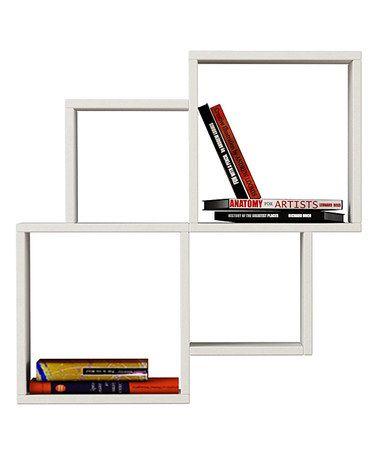 Loving this White Oyo Bookcase Shelf on #zulily! #zulilyfinds