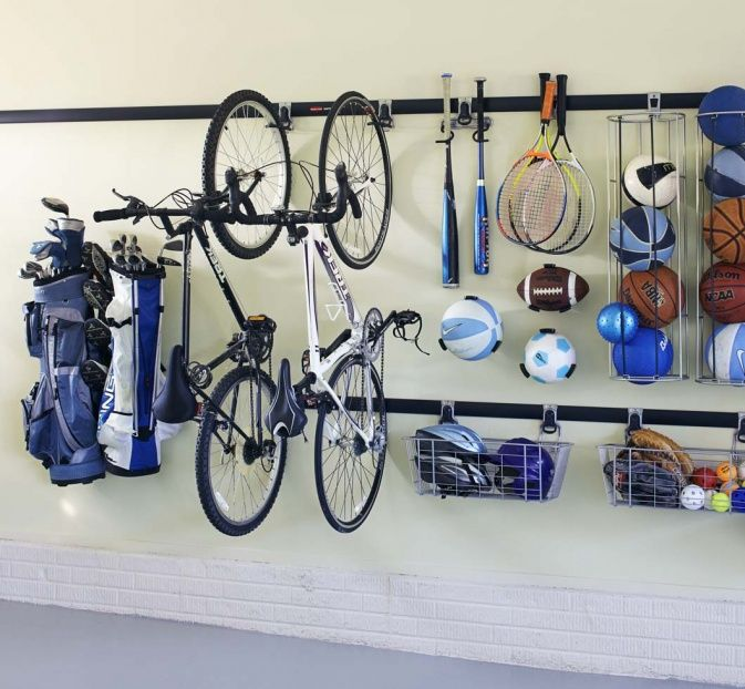 image result for fahrr der in der garage aufh ngen haus. Black Bedroom Furniture Sets. Home Design Ideas