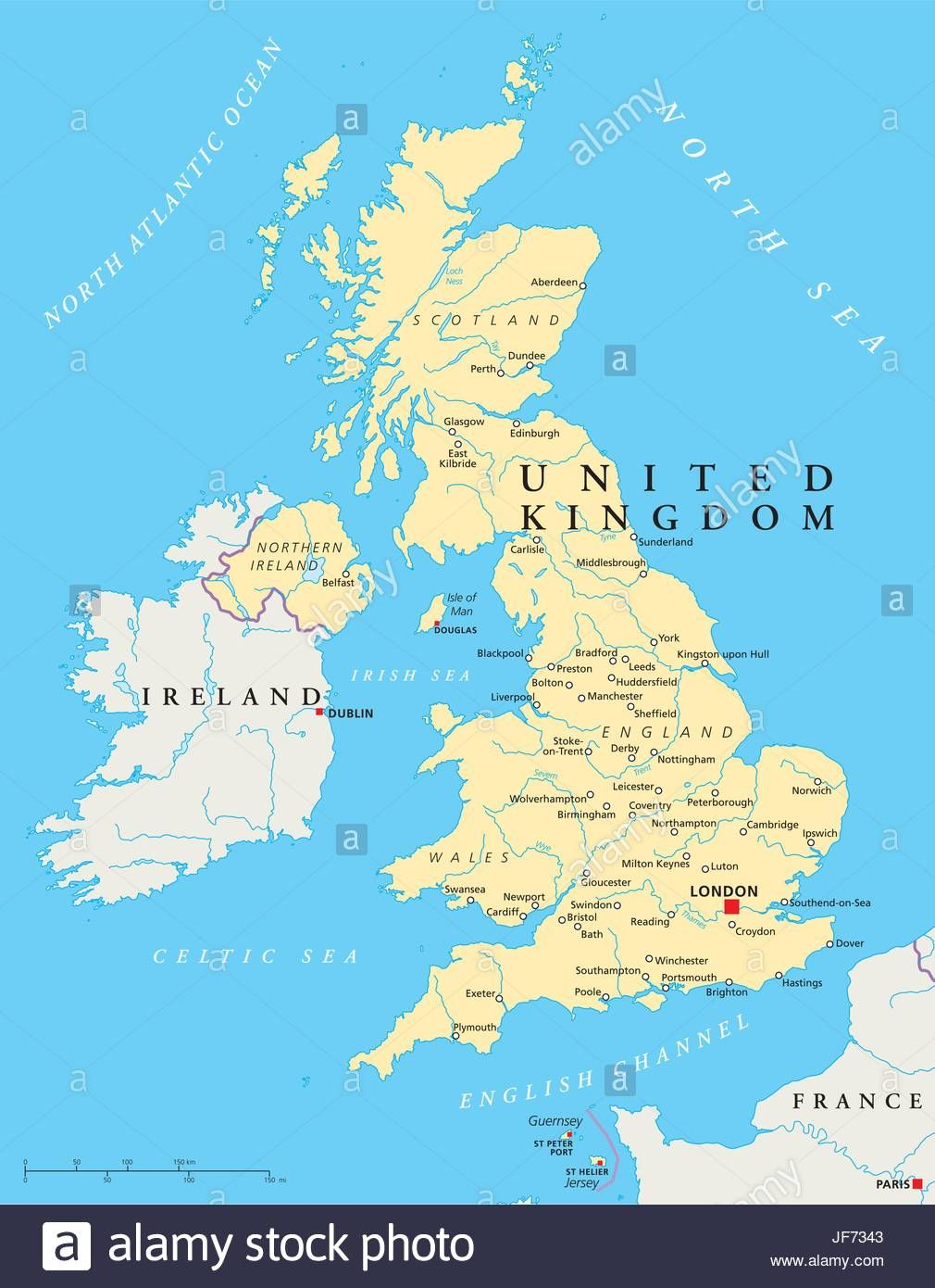Download London England On Map Major Tourist Attractions