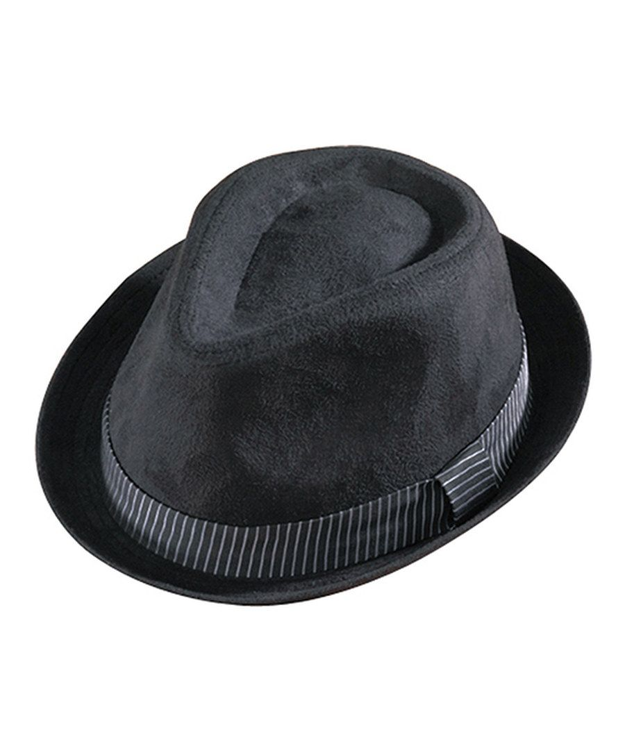 Look at this Henschel Hats Black Suede Fedora on  zulily today!  3cecb412d26