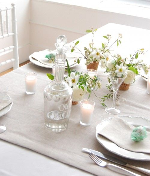 Lilac and Linen: A Spring Wedding Table | Diy wedding ...