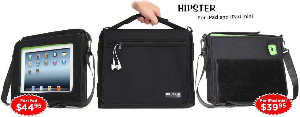 stage-hipster voor ipad handig in auto of misschien op school