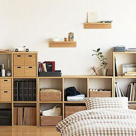 Oak modular storage system by Mujijpg 440441 Japanese Style