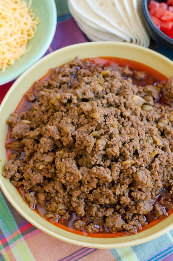 Ground Beef Taco Meat That Feeds A Crowd Or Freeze For Later Recipe Meat For A Crowd Feeding A Crowd Meat Dishes