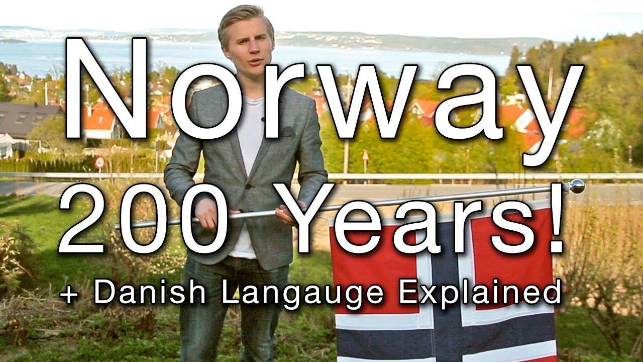 Norway 200 Years! (Danish Language Explained) Danish